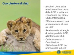 lcif club coordinator