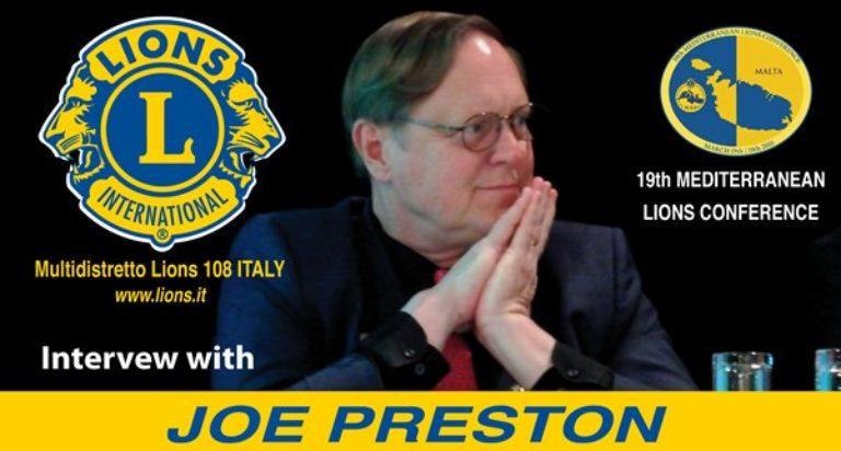 JOE PRESTON LIONS CLUBS INTERNATIONAL FOUNDATION LCIF