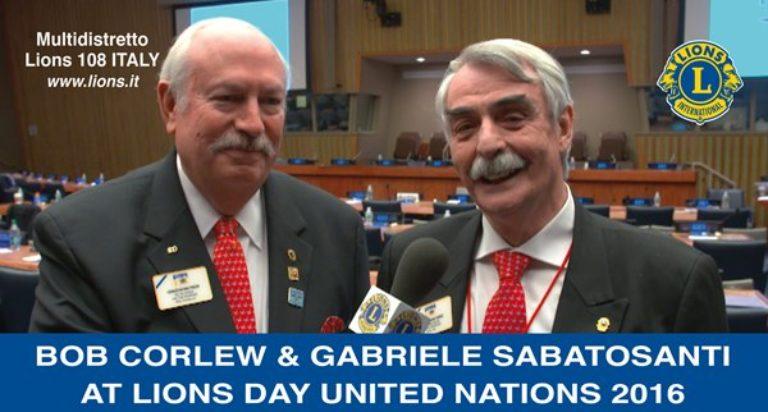 gabriele sabatosanti bob corlew nazioni unite