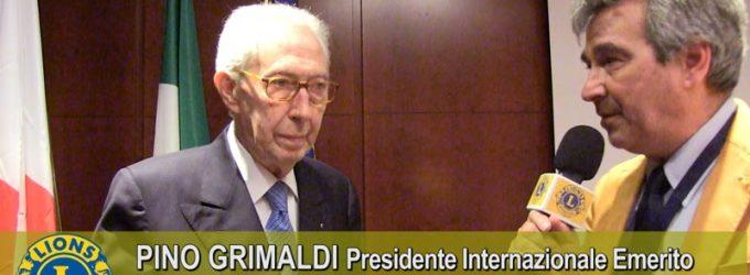 Pino Grimaldi: nella disponibilità a dare sta la qualità del socio