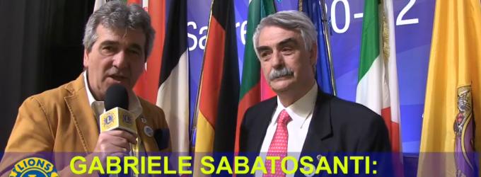 GABRIELE SABATOSANTI: E' ORA DI UN CAMBIAMENTO STRUTTURALE