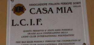 """Il Fare dei Lions: """"Casa mia"""" il service del Lions Club Taranto Poseidon che accresce l'autonomia dei portatori sindrome di Down."""