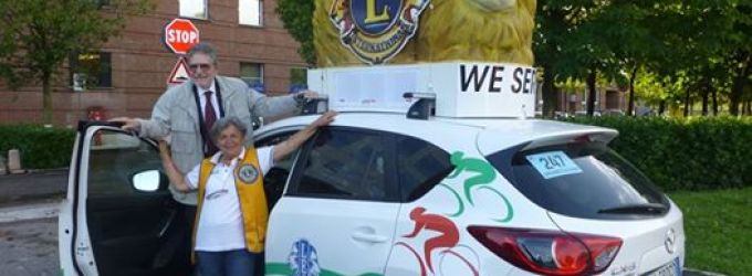 I Lions al Giro d'Italia!