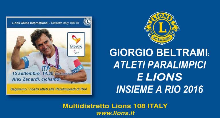 distretto 108tb lions atleti paralimpici
