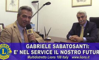 Gabriele Sabatosanti: il nostro futuro è nel service