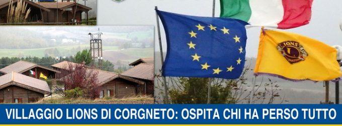 VIDEO – Villaggio Lions di Corgneto: ospita chi ha perso tutto