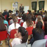 Una delle conferenze a Reggello (Lions Club Valdarno Host)