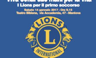 """Convegno Multidistrettuale sul Service Nazionale 2016-2017 'Viva Sofia: due mani per la vita i lions per il primo soccorso"""""""