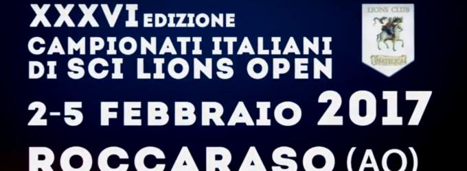 Campionati Italiani di Sci Lions Open a Roccaraso