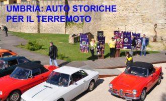 Sulla strada della solidarietà: auto storiche x il terremoto