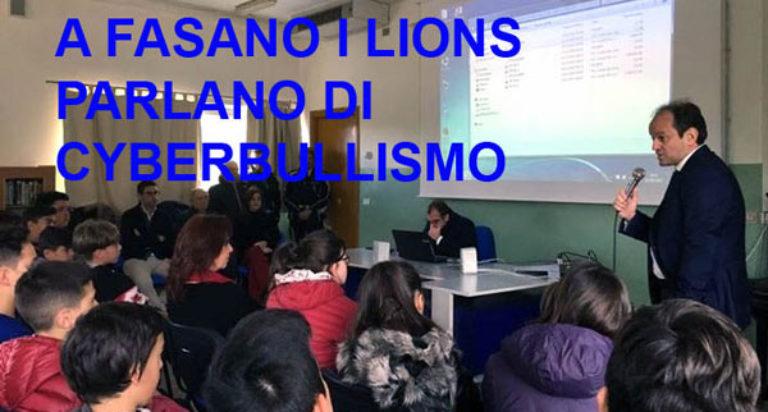 cyberbullismo lions club fasano