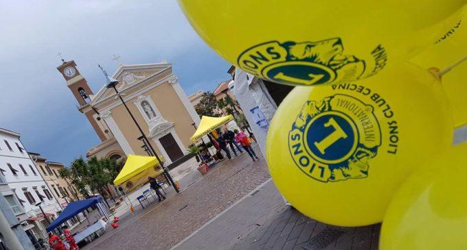 Cecina: Lions in piazza per la prevenzione sanitaria