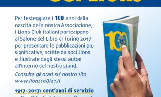 I Lions al Salone del Libro di Torino