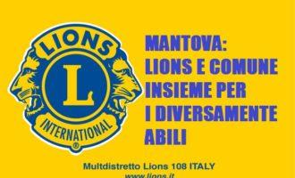Mantova: Lions e Comune insieme per i diversamente abili