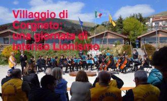 Villaggio di Corgneto: una giornata di intenso Lionismo