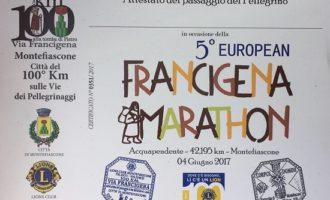 European Francigena Marathon