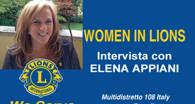 Women in Lions: intervista con Elena Appiani
