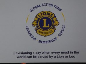 global action team GAT lions clubs international