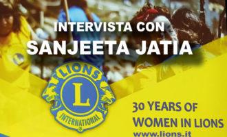 Sangeeta Jatia: le donne sono ottimi ambasciatori dei Lions, diamo loro il giusto spazio