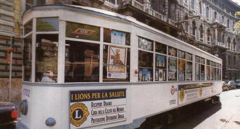 lions milano tram comunicazione
