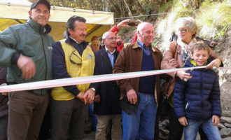 Ponte di Pracchiola: il restauro Lions