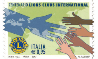 Presentato il Francobollo del Centenario Lions