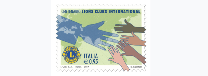 Il Francobollo commemorativo dei 100 anni del Lions Clubs International – Conferenza Stampa