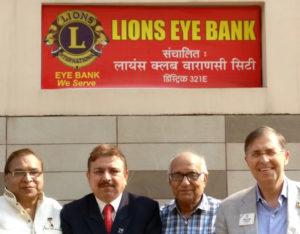 banca occhi varanasi india lions