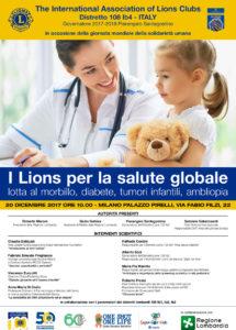 lions progetti umanitari sanità