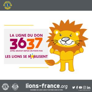 lions telethon francia