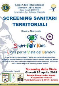 sight for kids lions catania
