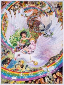 poster per la pace lions