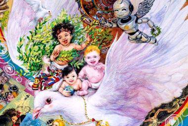 poster per la pac lions peace poster