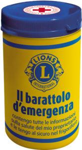 barattolo emergenza lions