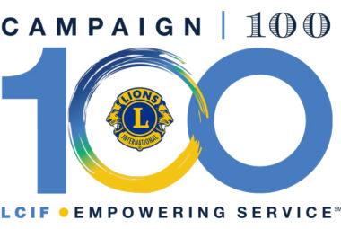 lcif campagna 100 lions
