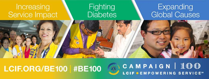 lions clubs international foundation campagna 100