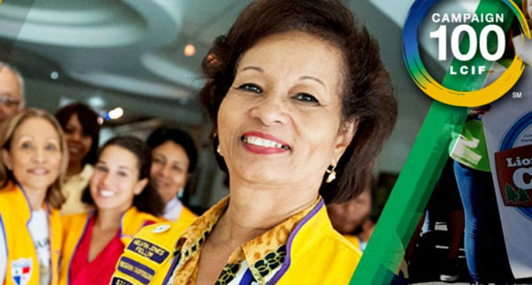 lcif campagna 100 lions clubs international