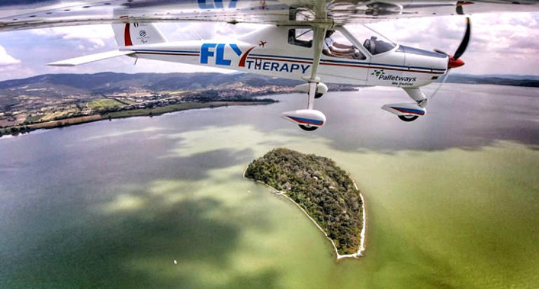 fly therapy campo giovani disabili toscana lions