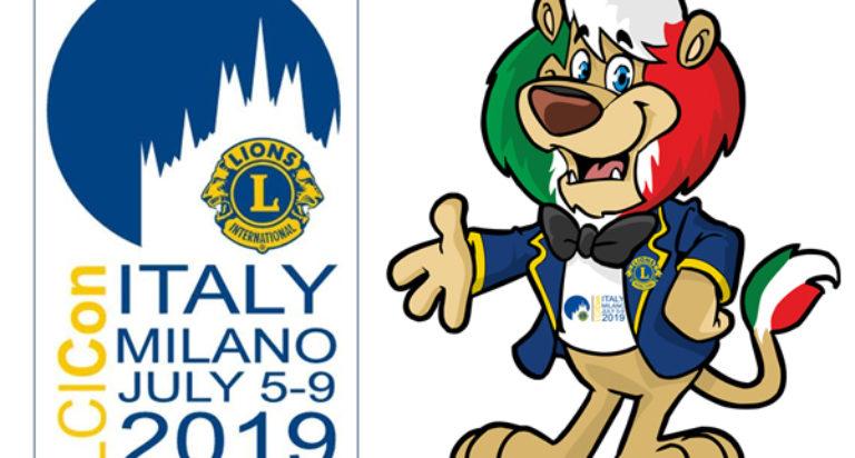 convention lions milano 2019 leonardo mascotte