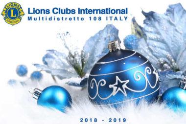 auguri natale 2018 lions italia