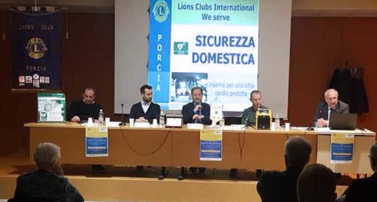lions club porcia sicurezza domestica