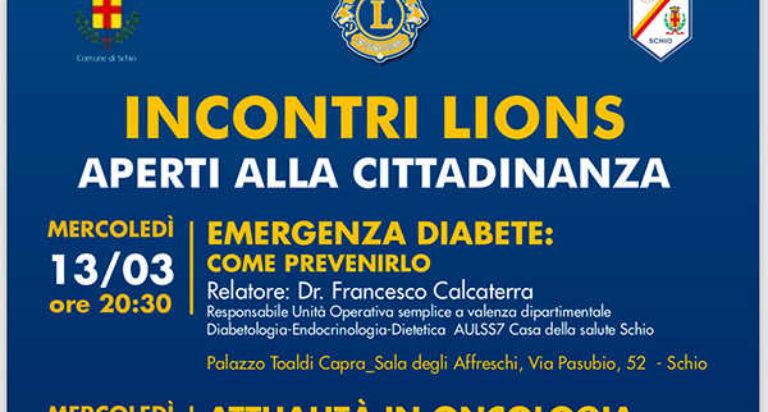 lions club schio incontri cittadinanza 2019