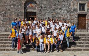 campo lions toscana via francigena 2019