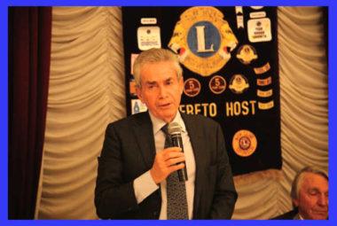 lions club rovereto host umberto guidoni