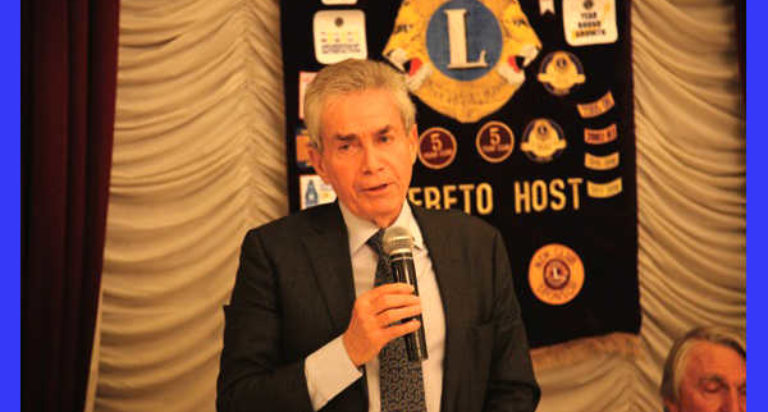 lions club rovereto host umberto guidoni