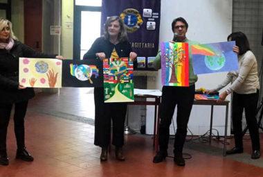 lions club concordia sagittaria poster per la pace