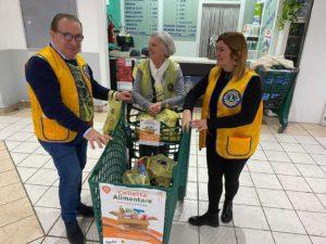 Lions Club Viadana Oglio Po colletta alimentare