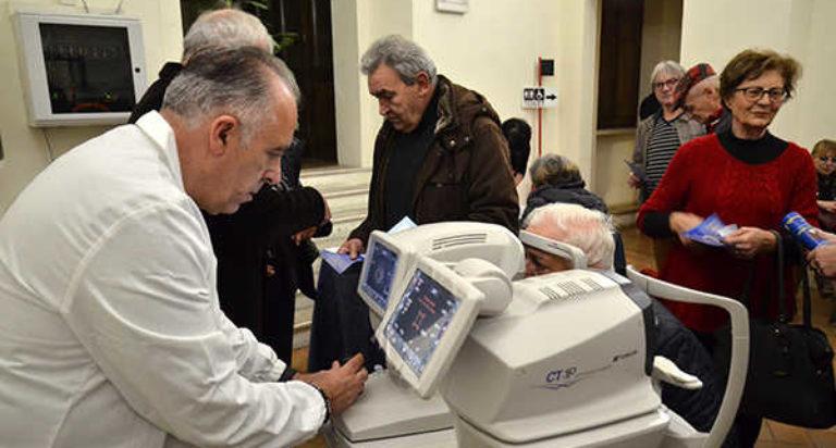 lions fabriano screening glaucoma