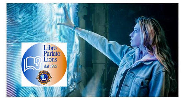 libro parlato lions solidarietà digitale