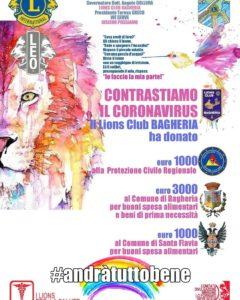 lions club bagheria coronavirus buoni spesa